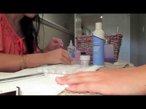 Girl's Day Out, Trash Picking & Acrylic Nails: July 12-13, 2014