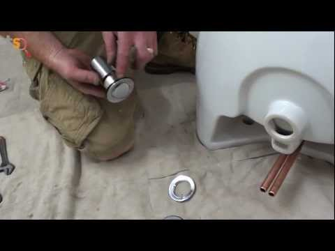 Tommy's Trade Secrets - How to Install a Basin & Pedestal