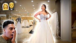 CHOOSING MY WEDDING DRESS!!!