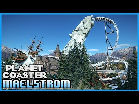 TEMPEST & MAELSTROM! Inverted Coaster & River Rapids! Coaster Spotlight 209 #PlanetCoaster