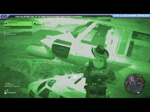 Ghost Recon Wildlands - Landing a helicopter... on another helicopter?