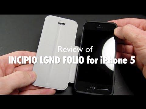 [Review] Incipio LGND Folio case for iPhone 5