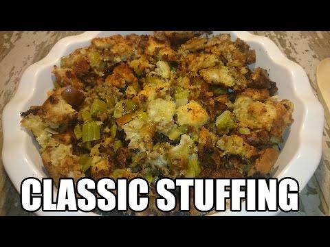 Classic Sausage Stuffing Recipe   Episode 111