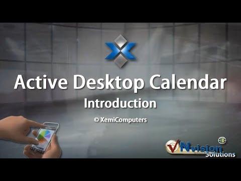 Active Desktop Calendar Introduction