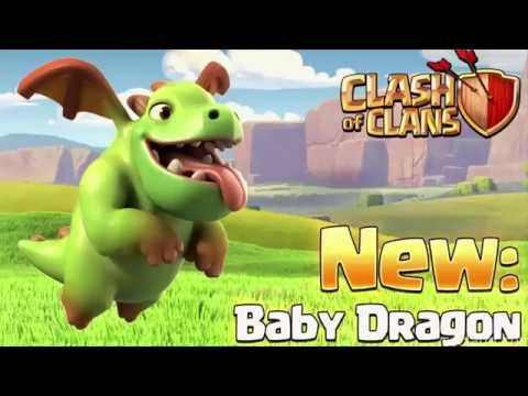 Clash of Clan: New Update - Baby Dragon, Miner & Clone Spell [Attack Strategy]