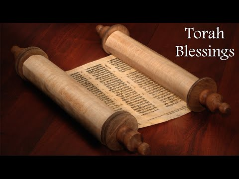 Torah Blessings, Before and After (with English Transliteration)