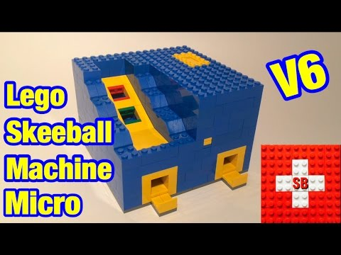 Lego Skeeball Machine V6 (Micro)
