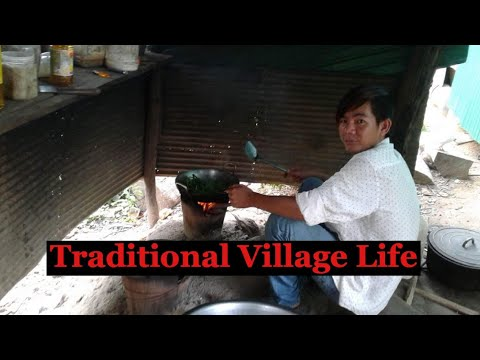 Traditional Village Life in Siem Reap