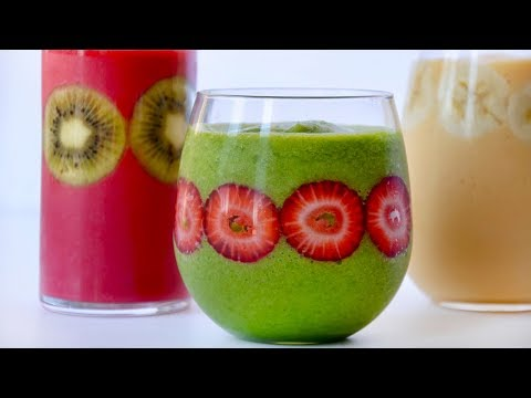 Healthy Secret Ingredient Smoothies