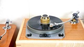 Restored Garrard 301 with Oversized Brass Platter, SPU Gold