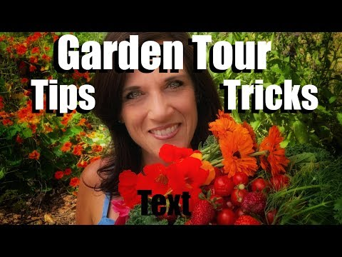 Garden Tour May 2018 - Lots of Garden Tips and Tricks & Bringing on the Pollinators!