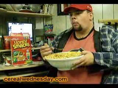 Cereal Wednesday: Honey Smacks Cereal