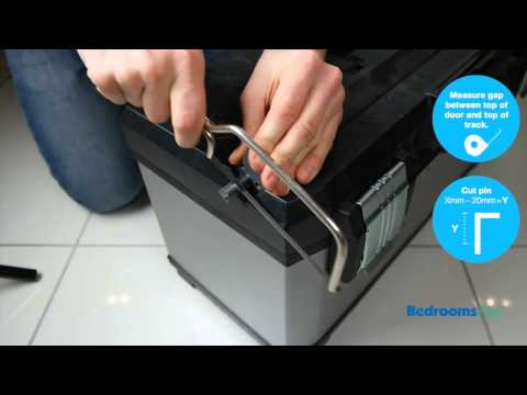 How to install SpacePro soft close unit for sliding wardrobe doors