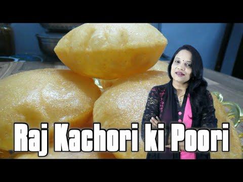 Raj Kachori ki Poori (in Hindi with English subs) | How to make