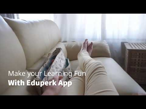 Learning is Fun with Eduperk App.