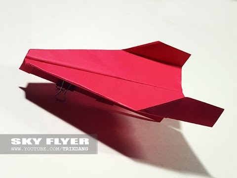 Best Paper Planes: How to make a paper airplane that Flies Far | Sky Flyer