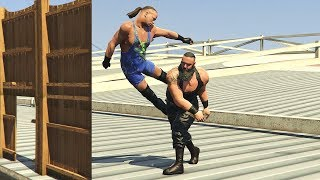 The Top 10 WWE 2K GTA OMG Moments of All Time Feat. John Cena, Braun Strowman, Randy Orton, RVD