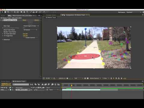 3D Camera Tracker in After Effects