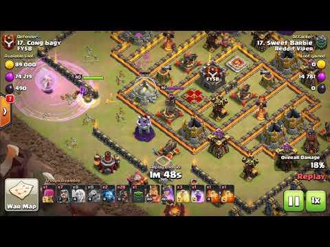 Reddit Viper vs FYSB | War Attack Highlight Video