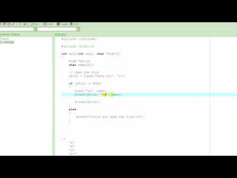 C Programming Tutorial # 41 - fscanf() - feof() - Reading From A File - Part 1 [HD]