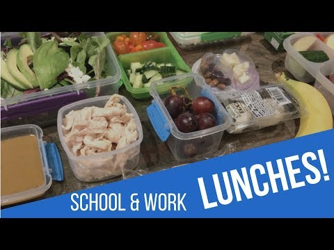 School & Work Lunches