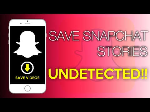 How To Save Snapchat Stories Without Person Knowing! | No Jailbreak | No PC| Dr Fone Screen Recorder