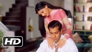 Sonali Bendre Comforts Salman Khan - Best Romantic Scene - Hum Saath Saath Hain
