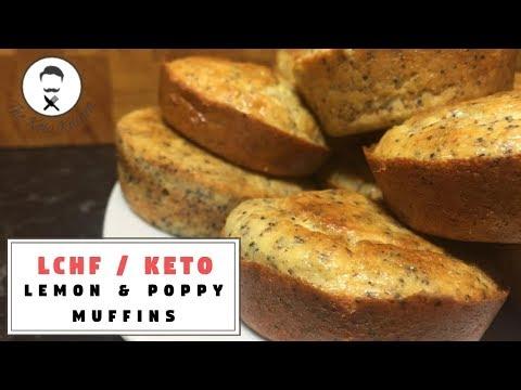 Lemon & Poppy Seed Muffins    The Keto Kitchen