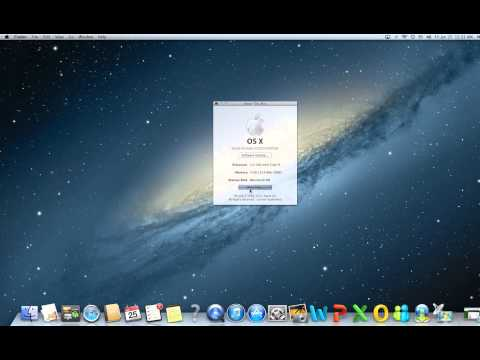 MAC OS X System Information