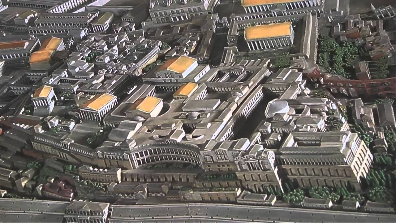 Rome's Ancient Monuments - Then and Now