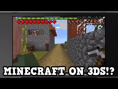 NEW 3DS MINECRAFT RELEASED - GAMEPLAY, LIMITATIONS
