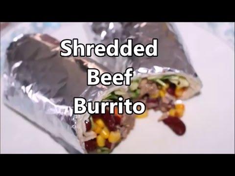 Shredded Beef Burrito - Easy Recipe - Ramadan recipe - Dunyas Kitchen