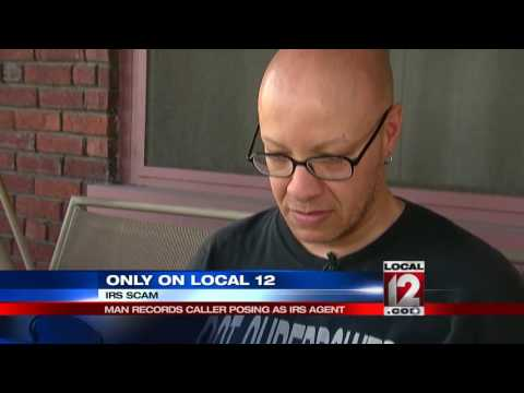 Man records callers posing as IRS agent
