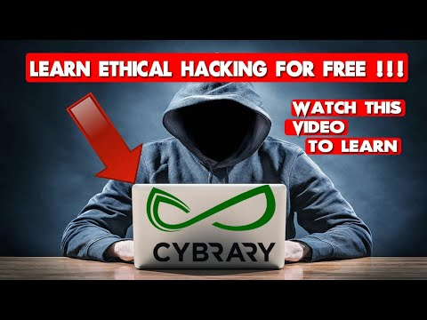 LEARN ETHICAL HACKING FOR FREE-⚡⚡ | #CYBRARY!!!