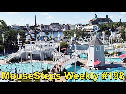 MouseSteps Weekly #198 Disney's Beach Club Resort Concierge; Epcot Food & Wine; Four Seasons Ravello