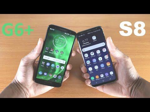 Moto G6 Plus Vs Galaxy S8 Speed Test