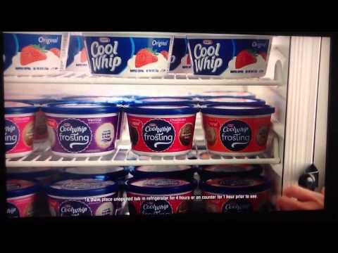 Cool Whip Frosting Commercial