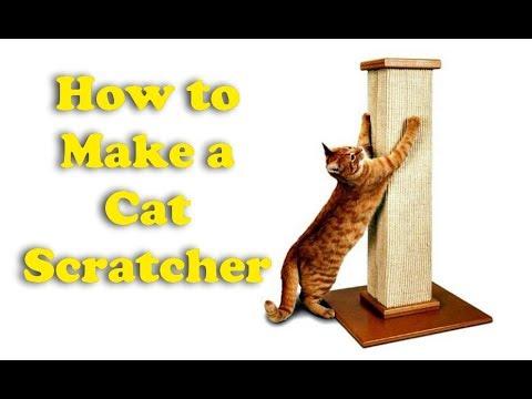 How to Make a Cat Scratcher