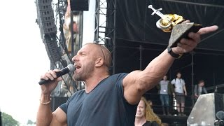 Triple H is honored with the Spirit of Lemmy Award at the Download Festival