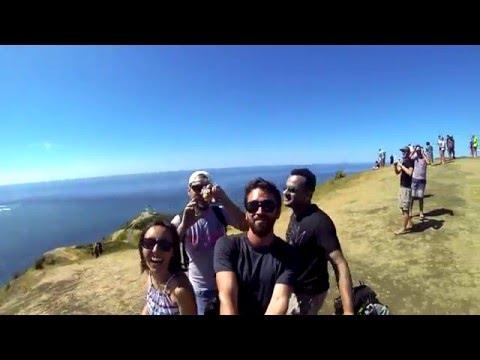 Traveling Around New Zealand's north Island