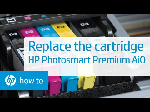 Replacing a Cartridge - HP Photosmart Premium All-in-One Printer (C309a)