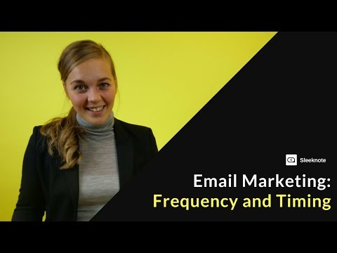 Email Frequency and Timing: How to Send the Right Emails at the Right Time