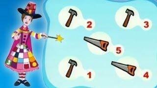 Matematică - Numărare obiecte: 5 unelte, pentru copii