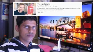 Indian guy reacts to Pewdiepie Congratulations