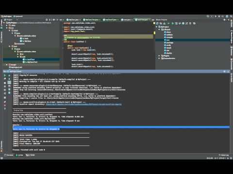 Unit and Integration Testing with Maven and JUnit