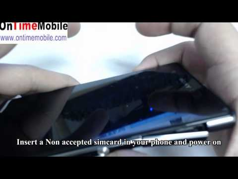 How to Check Ur IMEI and How to unlock Sony Xperia Z1s C6916