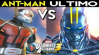Download ULTIMO Vs. GIANT Ant-Man Boss Fight - Marvel Ultimate Alliance 3: The Black Order Video