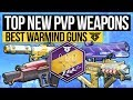 Destiny 2   BEST WARMIND PVP WEAPONS! - New Best Weapons for Crucible in Warmind DLC & Season 3!