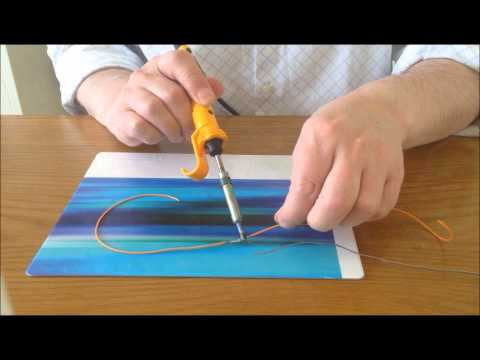 How to solder wires together the easy way.