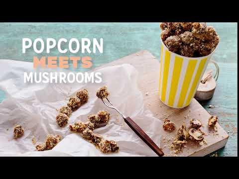 Summer Mushie Mash-ups (Mushrooms/Popcorn)